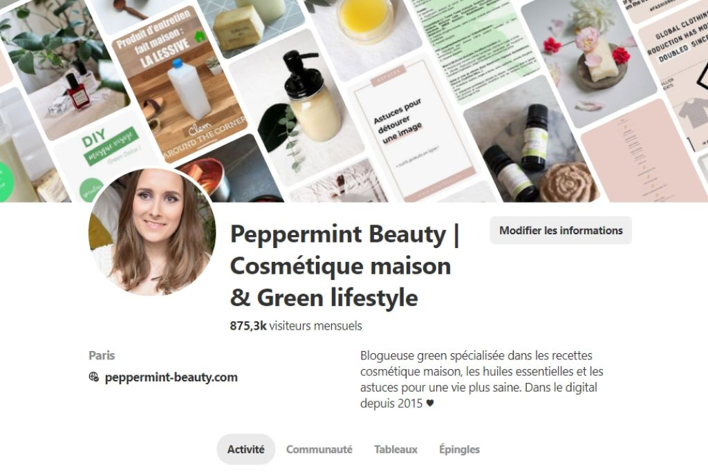Pinterest Peppermint Beauty