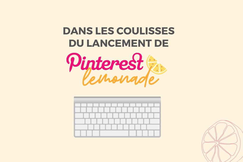 Formation Pinterest : dans les coulisses de mon 3e lancement