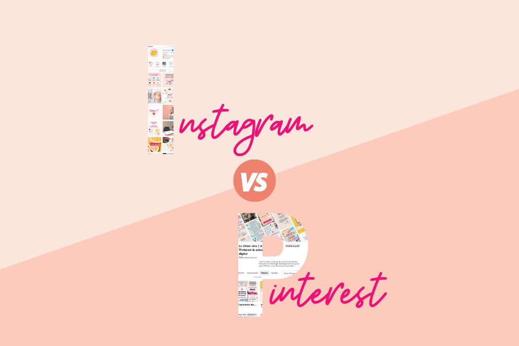 Instagram vs Pinterest