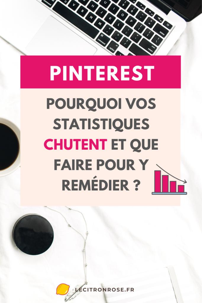 Pinterest baisse de trafic : que faire ?